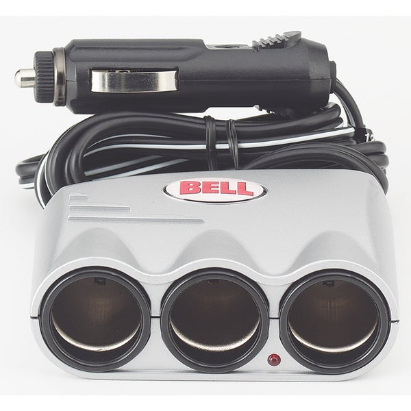 Bell 39061-8 12 Volt Triple Socket Splitter & Adapter