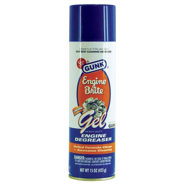 Gunk EBGEL Engine Brite Gel Heavy Duty Engine Degreaser