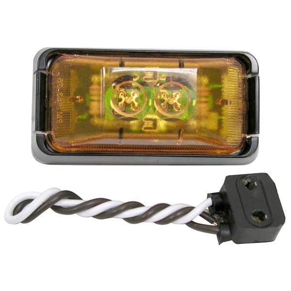 PM V153KA Amber 2 Diode LED Clearance & Side Marker Light Kit