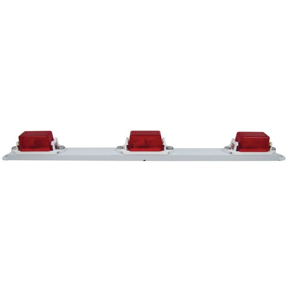 PM V107-3R Red Mini Light Bar