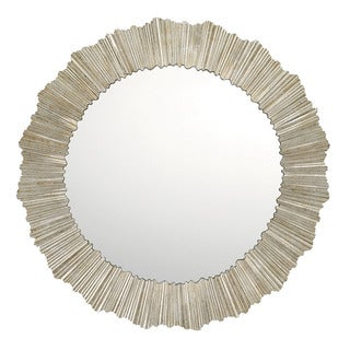 Capital Lighting Modern Gilded Silver Decorative Wall Mirror