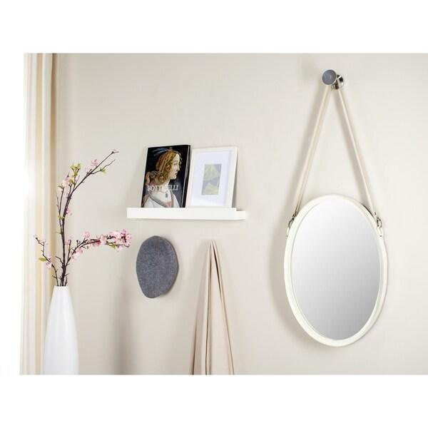 Safavieh Raleigh Strap Ivory Mirror