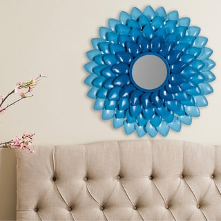 Safavieh Chrissy Blue Mirror