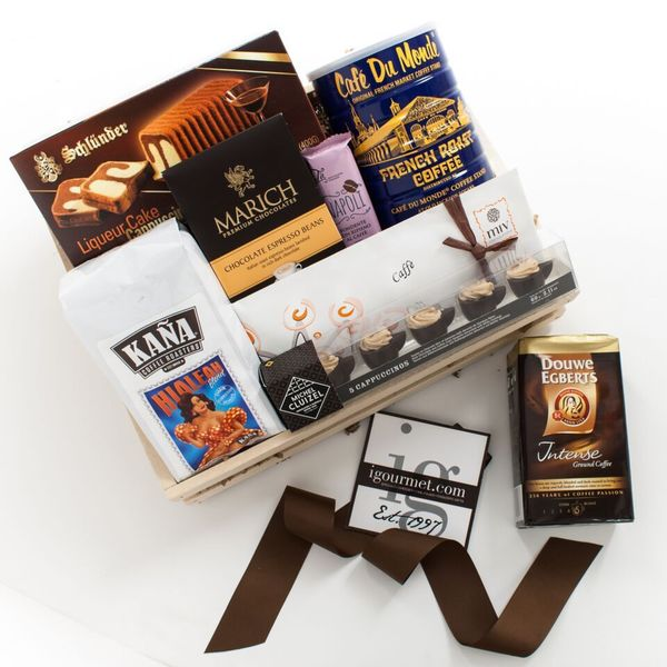igourmet The Dark Roast Gift Crate