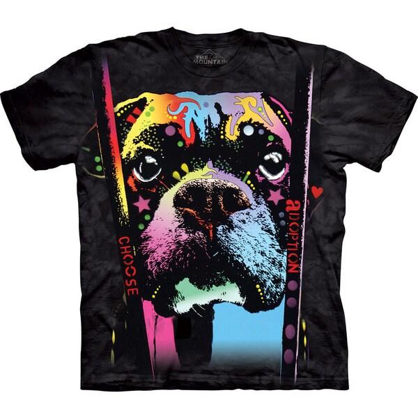 The Mountain Boxer Choose Adoption T-shirt