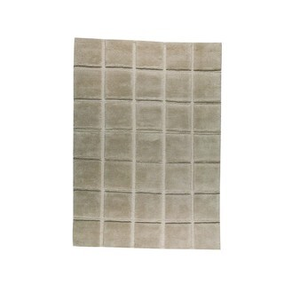 M.A.Trading Indo Hand-knotted Manhattan Beige Rug (9' x 12')