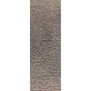M.A.Trading Indo Hand-knotted Tokyo Grey/ Beige Rug (2'8 x 7'10)