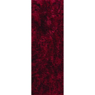 M.A.Trading Indo Hand-woven Dubai Wine Rug (2'8 x 7'10)