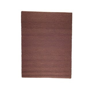 Indo Hand-woven Ladhak Brown Rug (3' x 5'4)
