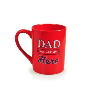 Kityu Gift Dad You Are My Hero 16-ounce Ceramic Mug
