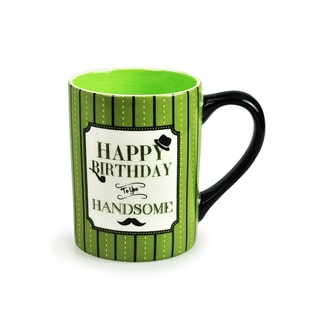 Kityu Gift Happy Birthday To You Handsome 16-ounce Ceramic Mug