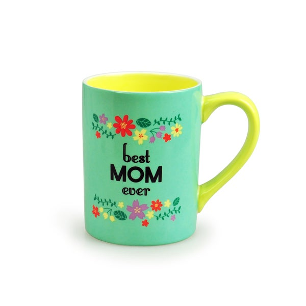 Kityu Gift Best Mom Ever Ceramic 16-ounce Mug