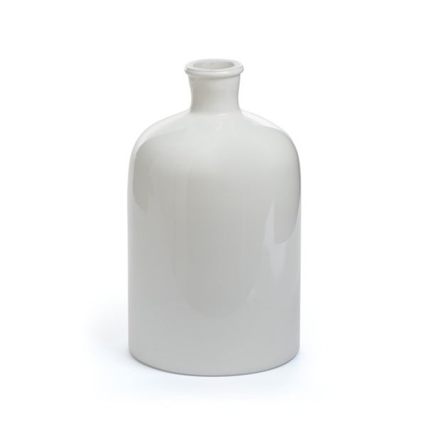 Hip Vintage White Stratton Vase