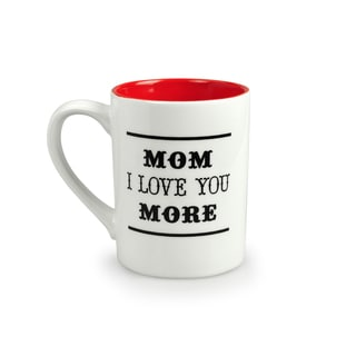 Kityu Gift Mom I Love You More 16-ounce Ceramic Mug