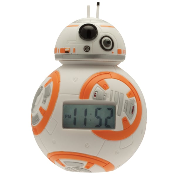 BulbBotz Star Wars Kid's Light Up BB-8 Clock 18356086