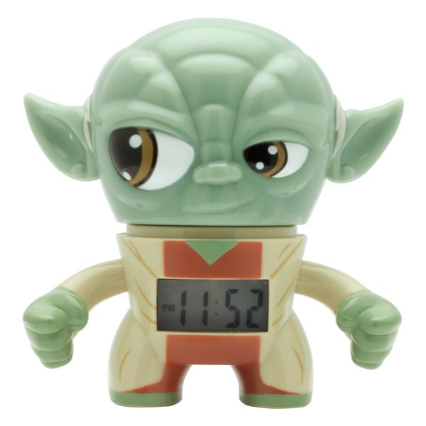 BulbBotz Star Wars Kid's Mini Yoda Clock 18356101