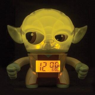 BulbBotz Star Wars Kid's Light Up Yoda Clock