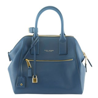 Marc Jacobs Smooth Blue Large Incognito Tote