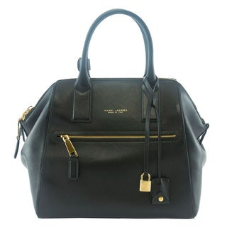 Marc Jacobs Smooth Black Large Incognito Tote
