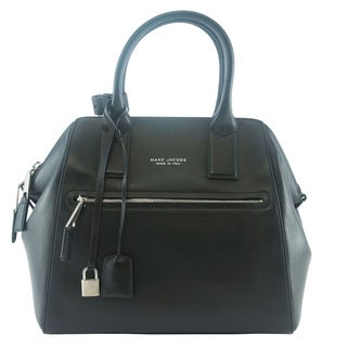 Marc Jacobs Smooth Large Black/ Nickel Incognito Tote