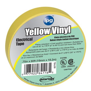 Intertape Polymer Group 5682 60' All Weather Colored Electrical Marking Tape