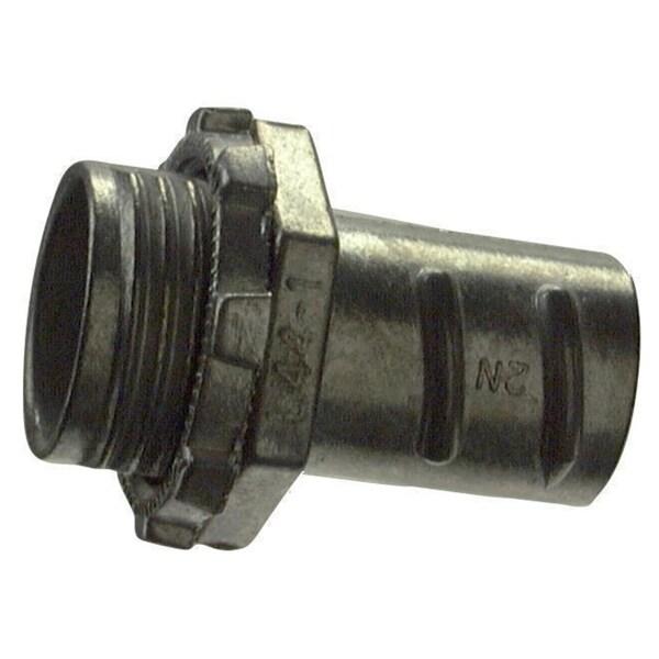"""Halex 04410 1"""" Zinc Screw In Connector"""
