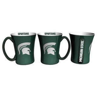Michigan State Spartans 14-ounce Victory Mug Set