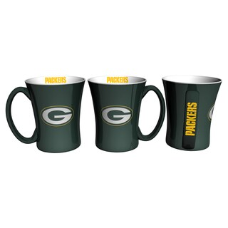 Green Bay Packers 14-ounce Victory Mug Set