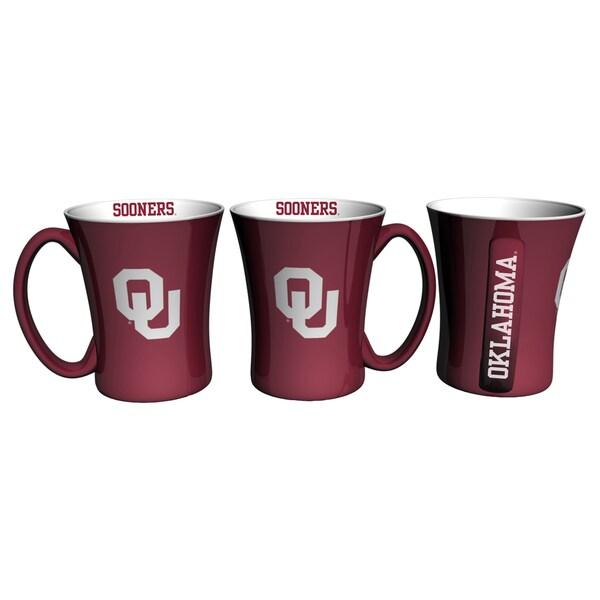 Oklahoma Sooners 14-ounce Victory Mug Set 18356836