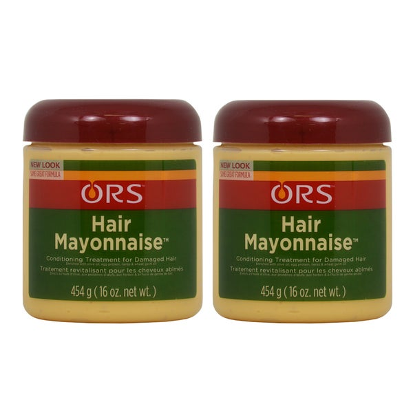 Hair Mayonnaise 16-ounce Organic Root Stimulator (Pack of 2)