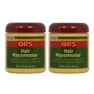 Hair Mayonnaise 16-ounce Organic Root Stimulator (Pack of 2)