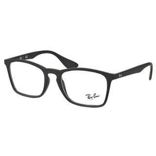 Ray-Ban RX 7045 5364 Black Rubber Plastic Rectangle 53mm Eyeglasses