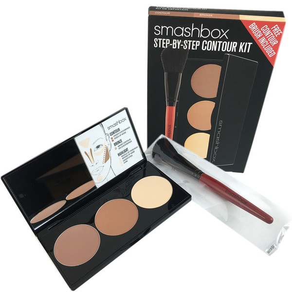 Smashbox Step by Step Light/Medium Contour Kit with Brush