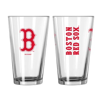 Boston Red Sox Game Day Pint Glass 2-Pack