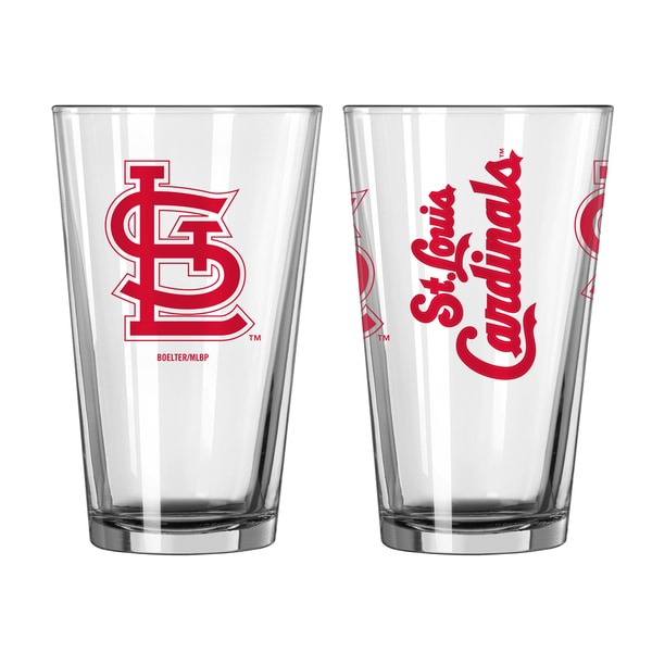 St. Louis Cardinals Game Day Pint Glass 2-Pack 18357655