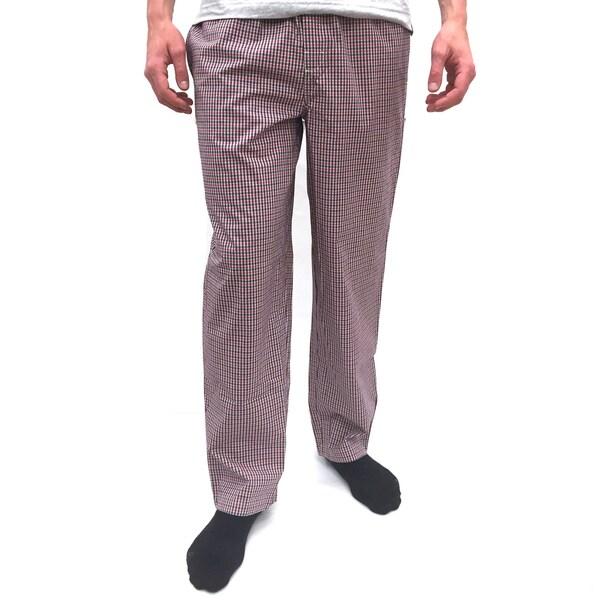 Reed Edward Men's Red Plaid Lounge Pants