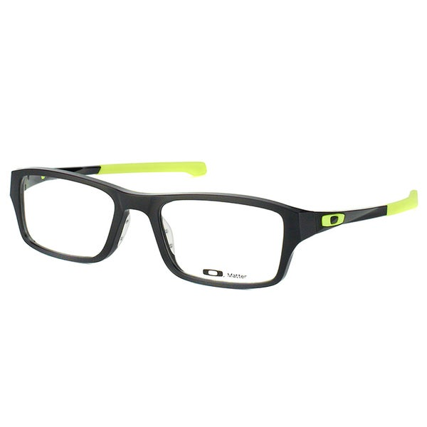Oakley Chamfer OX8039-0649 Satin Black Retina Burn Rectangle 49mm Eyeglasses