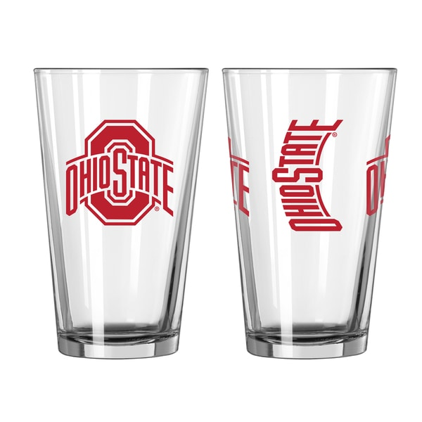 Ohio State Buckeyes Game Day Pint Glass 2-Pack 18357713