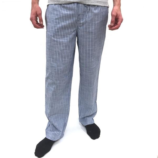 Reed Edward Men's Blue Stripe Lounge Pants