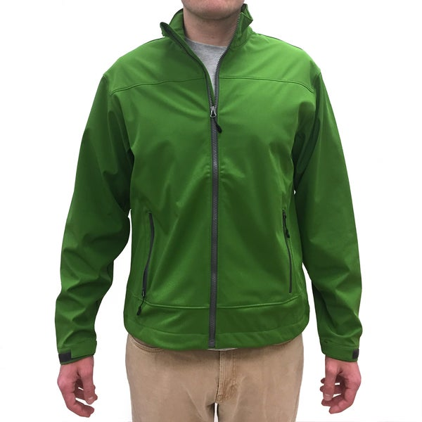 Narragansett Traders Men's Green Fleece-Lined Full-Zip Jacket
