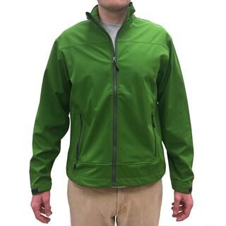 Narragansett Traders Men's Green Fleece-Lined Full-Zip Jacket