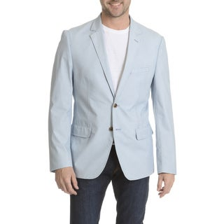 Daniel Hechter Men's Garment-washed Trim-fit Sports Coat