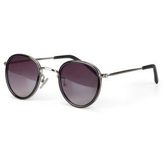 Journee Collection Women's Fashion Metal Round Sunglasses