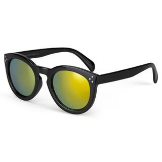 Journee Collection Women's Classic Fashion Round Sunglasses