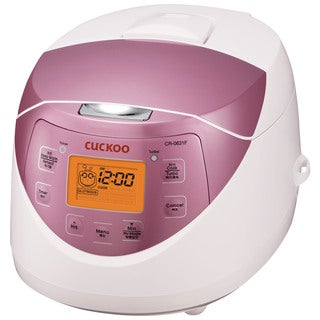 Cuckoo CR-0631F 6 Cup Electric Heating Rice Cooker