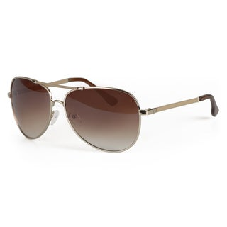 Journee Collection Women's Fashion Metal Aviator Sunglasses