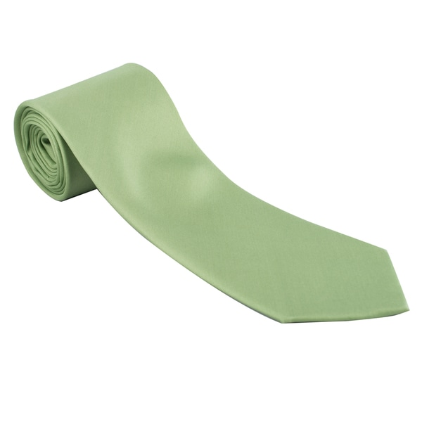 The Journey Continues - Targa Mint Green Italian Silk Tie