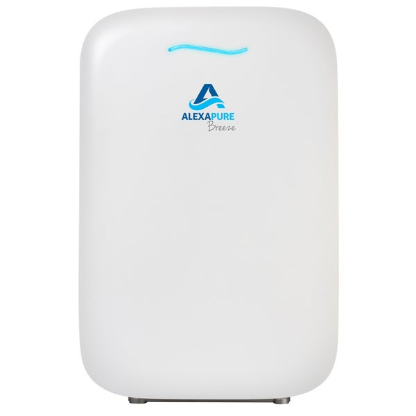 Alexapure Breeze White Energy-Efficient HEPA+ IonCluster Air Purification System 18358444