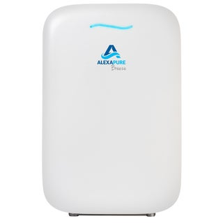 Alexapure Breeze White Energy-Efficient HEPA+ IonCluster Air Purification System