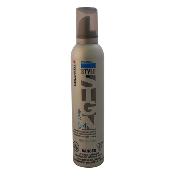 Goldwell Style Sign 4 Top Whip Ultra Strong 10.3-ounce Volume Mousse